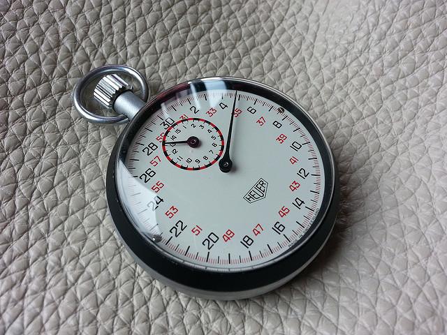 Chronographe de sport HEUER