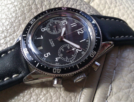 Montre chronographe Valjoux 7734